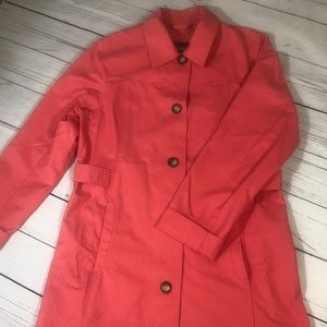 Eddie bower trench coat size M